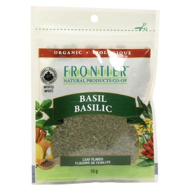 Food & Drink - Frontier Co-Op - Basil Leaf Flakes, 10g