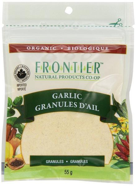 Food & Drink - Frontier Co-Op - Garlic Granules - 55g