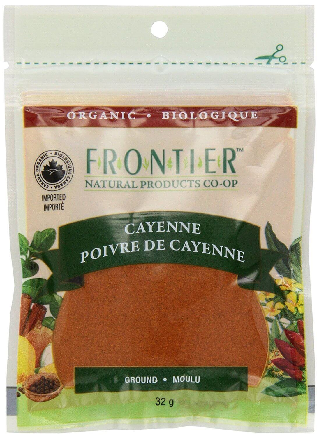 Food & Drink - Frontier Co-Op - Ground Cayenne, 32g