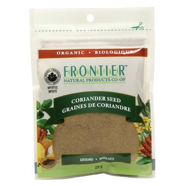 Food & Drink - Frontier Co-Op - Ground Coriander Seed, 29g