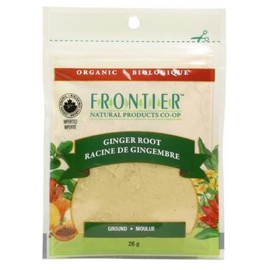 Food & Drink - Frontier Co-Op - Ground Ginger Root, 26g