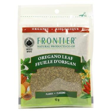 Food & Drink - Frontier Co-Op - Organic Oregano Leaf Flakes, 10g