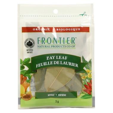 Food & Drink - Frontier Co-Op - Organic Whole Bay Leaf, 3g