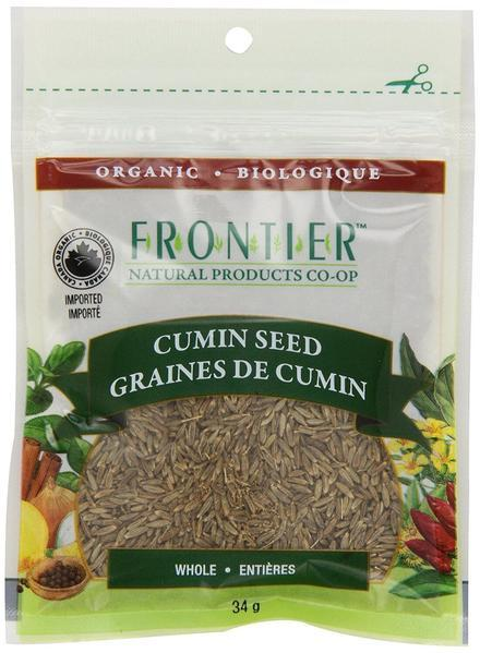 Food & Drink - Frontier Co-Op - Organic Whole Cumin Seed, 34g