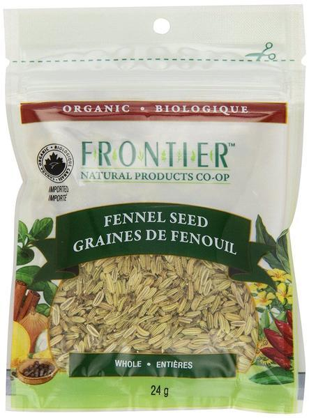 Food & Drink - Frontier Co-Op - Organic Whole Fennel Seed, 24g