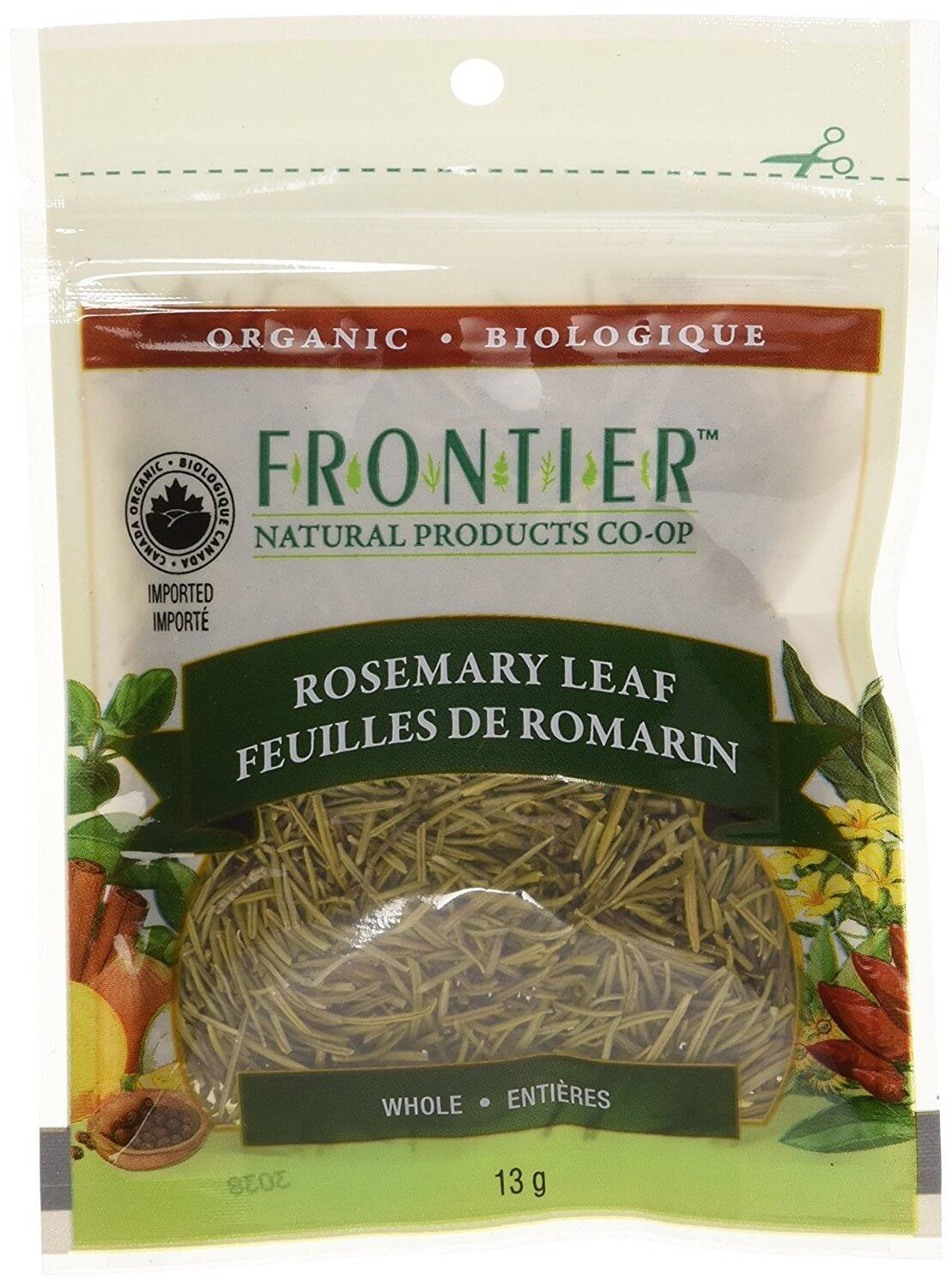 Food & Drink - Frontier Co-Op - Organic Whole Rosemary Leaf, 13g