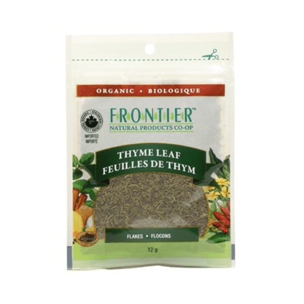 Food & Drink - Frontier Co-Op - Thyme Leaf Flakes, 12g