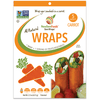 Food & Drink - GemWraps - All Natural Wraps - Carrotm 5 Count