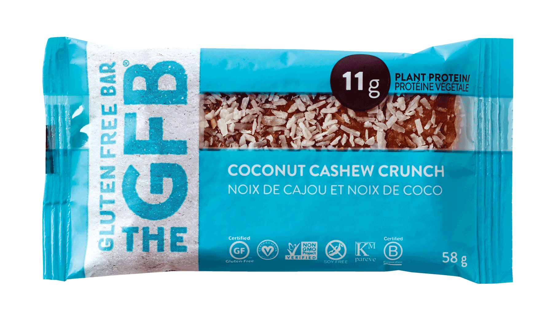 Food & Drink - Gluten Free Bar - Gluten Free Bar - Coconut Cash - 58g