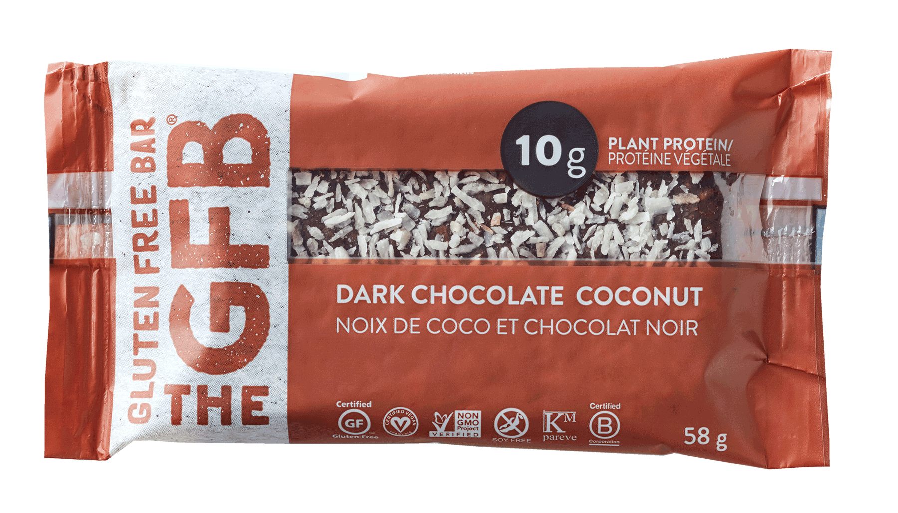 Food & Drink - Gluten Free Bar - Gluten Free Bar - Dark Chocola - 58g