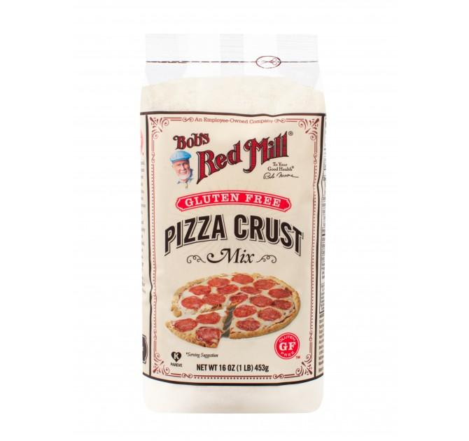 Food & Drink,Gluten Free,Dairy Free,Wheat Free - Bob's Red Mill - Gluten Free Pizza Crust Mix, 453g