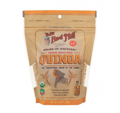 Food & Drink,Gluten Free,Organic - Bob's Red Mill - Organic Quinoa Grain, 453g
