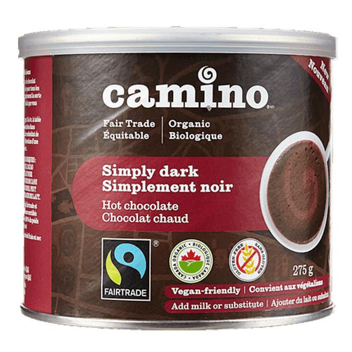 Food & Drink,Gluten Free,Organic,Fair Trade - Camino - Simply Dark Hot Chocolate, 275g