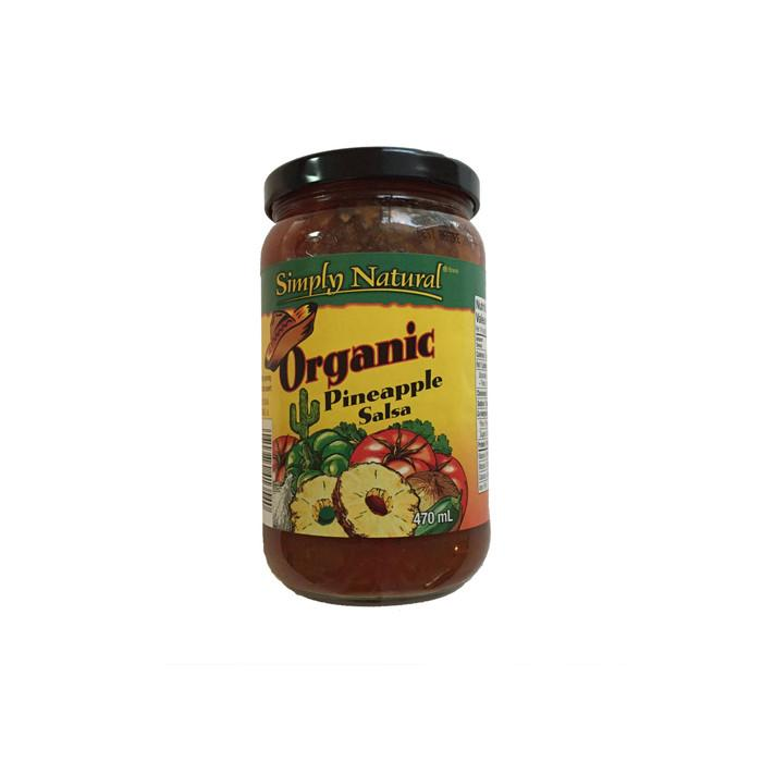 Food & Drink,Gluten Free,Organic - Simply Natural - Organic Pineapple Salsa, 470ml