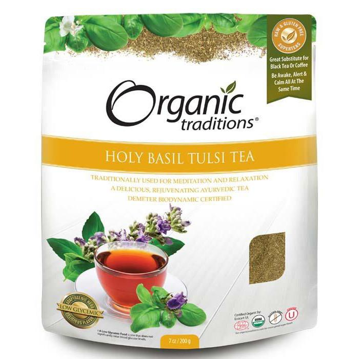 Food & Drink,Gluten Free,Vegan,Organic,Non GMO - Organic Traditions - Holy Basil (Tulsi) Tea Cut
