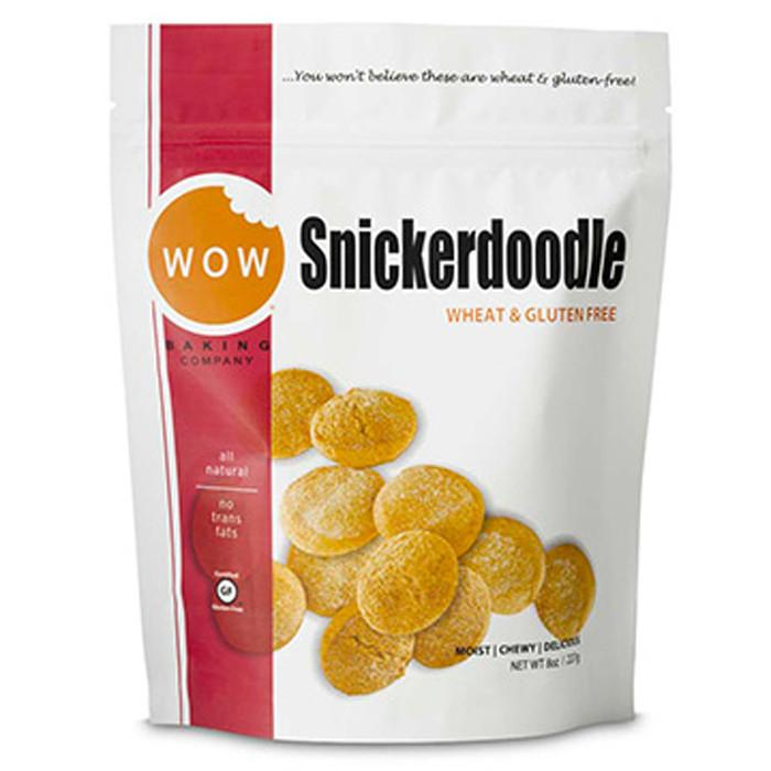 Food & Drink,Gluten Free,Wheat Free - WOW Baking Company - Snickerdoodle Cookies, 227g