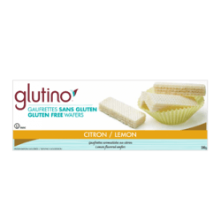 Food & Drink - Glutino - Lemon Wafer Cookies - 200g