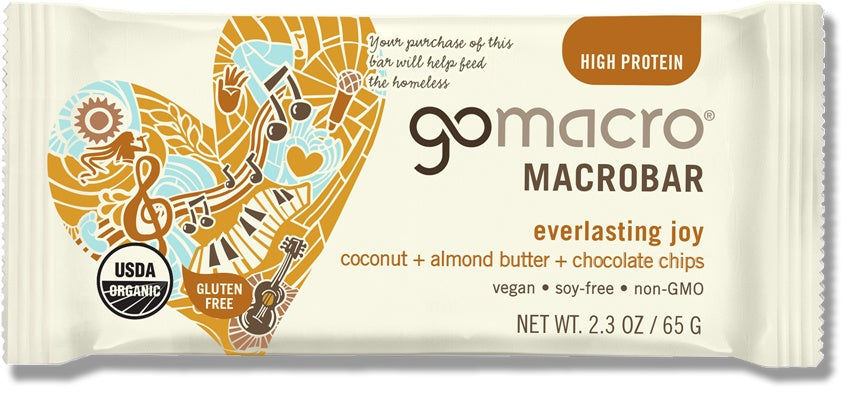 Food & Drink - Go Macro Bars - Coconut, Almond Butter & Chocolate MacroBar, 65 G