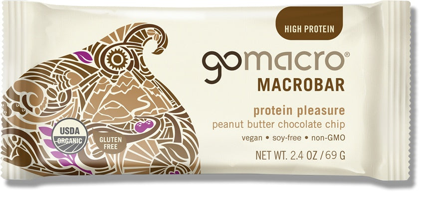 Food & Drink - Go Macro Bars - Peanut Butter Chocolate Chip MacroBar, 57g