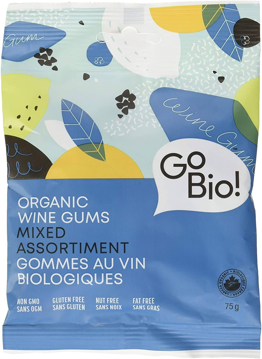 Food & Drink - GoBio - Organic Wine Gums, 75g