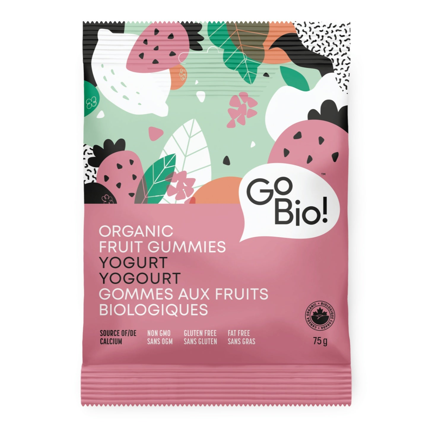Food & Drink - GoBio - Organic Yogurt Fruit Gummies, 75g