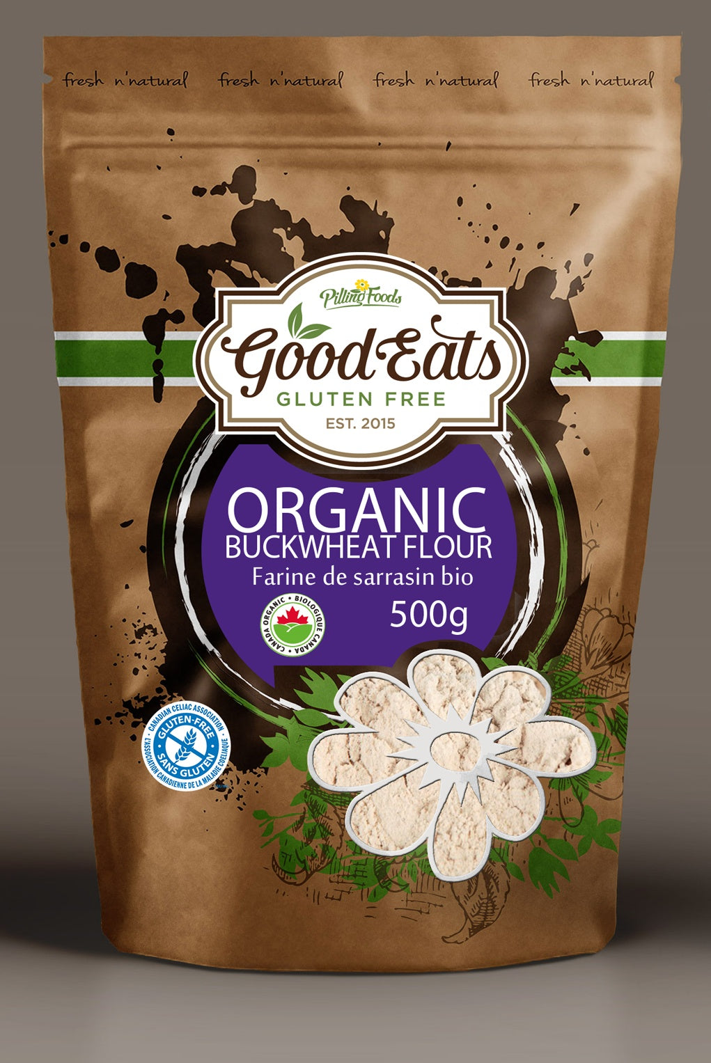 Food & Drink - Good Eats - Organic Buckwheat Flour - 500 G