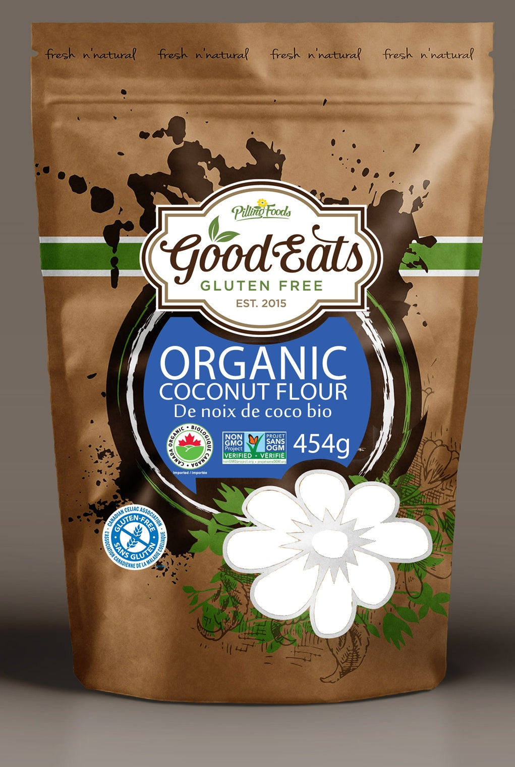 Food & Drink - Good Eats - Organic Coconut Flour - 454 G