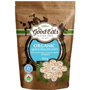 Food & Drink - Good Eats - Organic Quick Rolled Oats, 454g