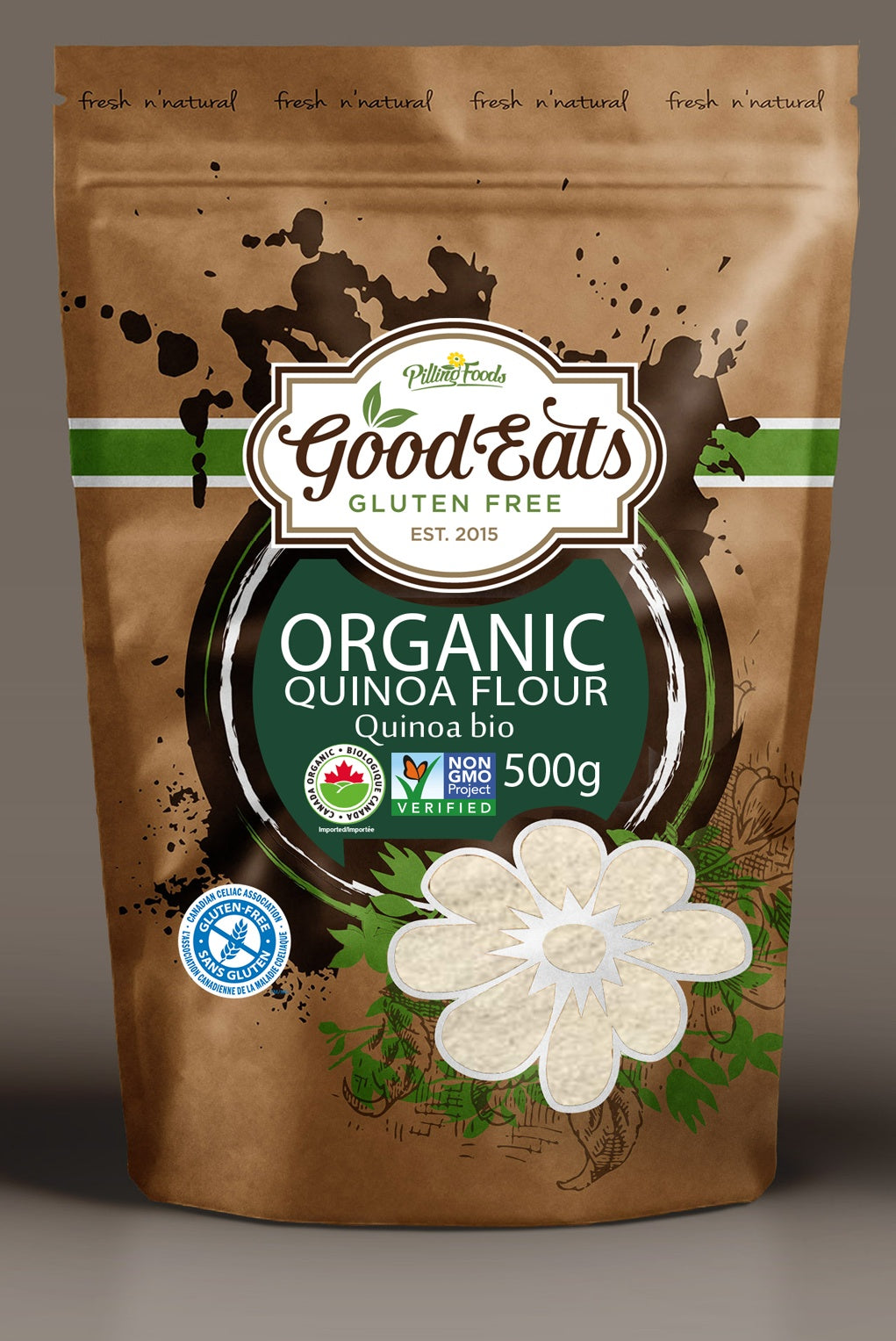 Food & Drink - Good Eats - Organic Quinoa Flour - 500 G