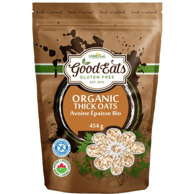 Food & Drink - Good Eats - Organic Thick Rolled Oats, 454g