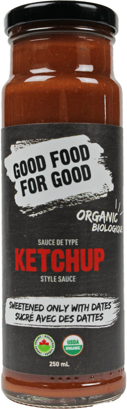 Food & Drink - Good Food For Good - Date Sweetened Ketchup,  250ml