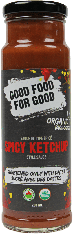 Food & Drink - Good Food For Good - Spicy Date Sweetened Ketchup, 250ml