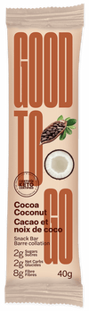 Food & Drink - Good To Go - Cocoa Coconut Snack Bar, 40g