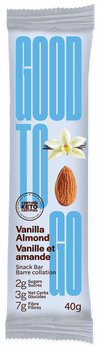 Food & Drink - Good To Go - Vanilla Almond Snack Bar, 40g