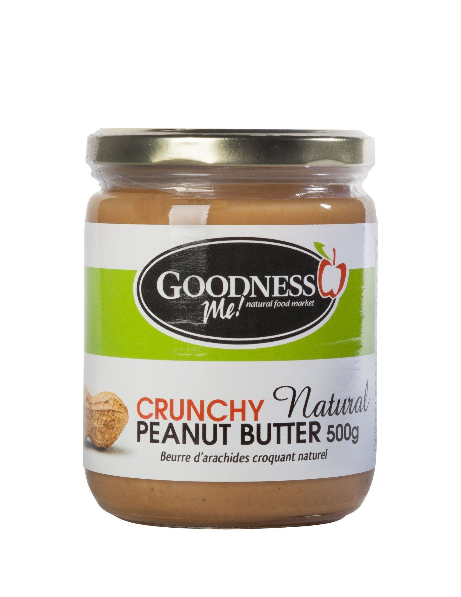 Food & Drink - Goodness Me! - Crunchy Peanut Butter, 500g