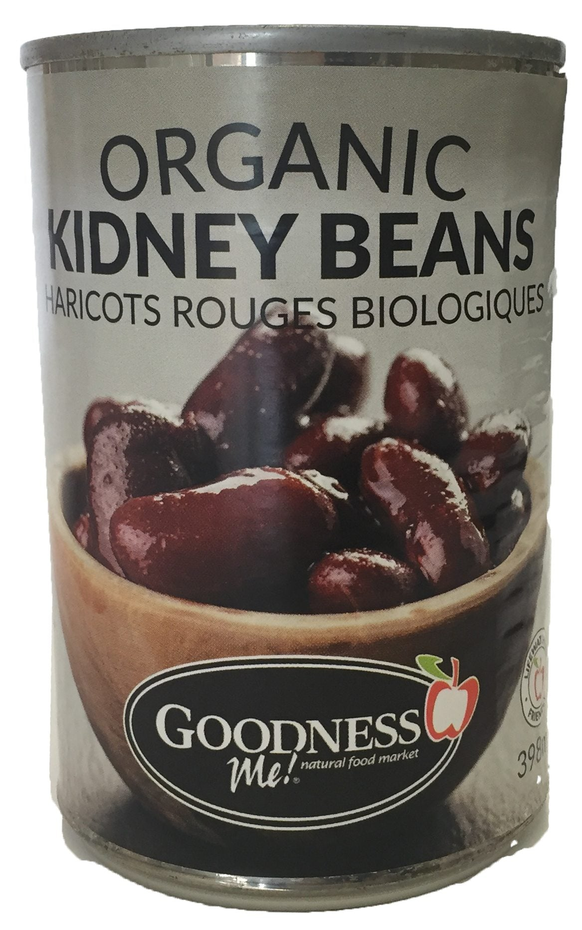 Food & Drink - Goodness Me! - Organic Kidney Beans, 398 Ml