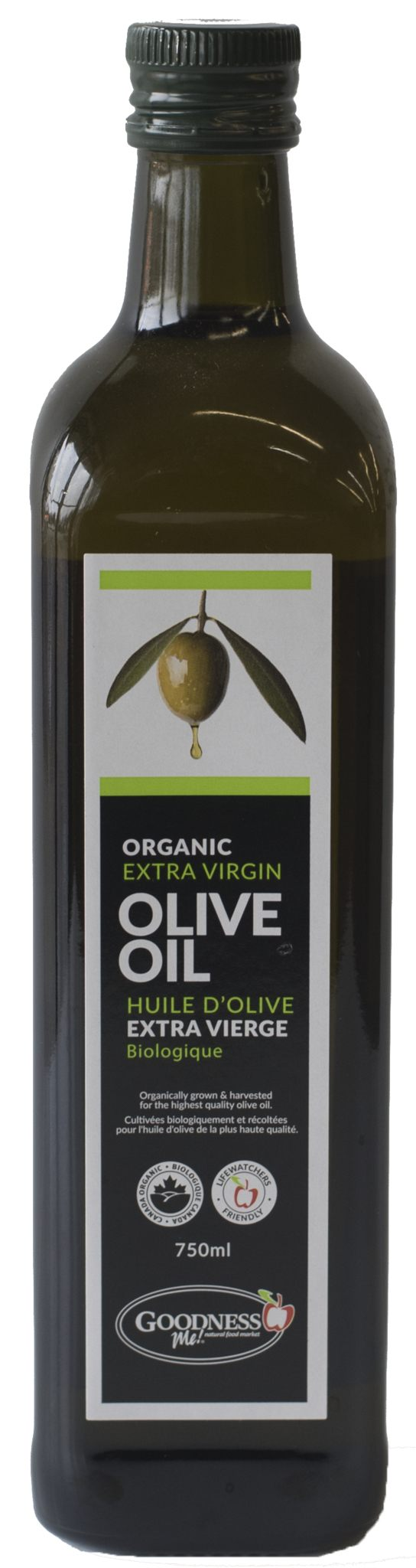 Food & Drink - Goodness Me - Organic Olive Oil, 750ml