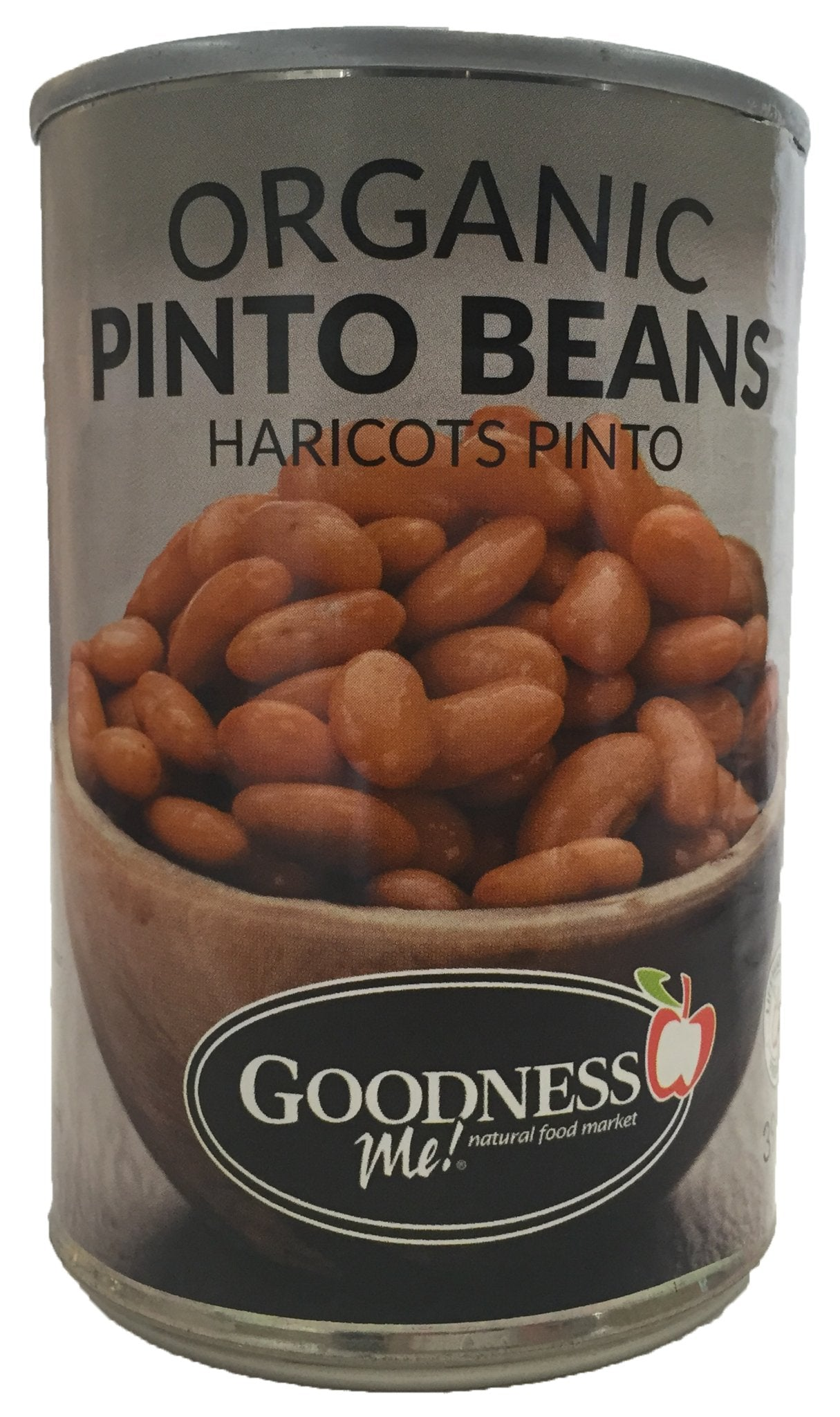 Food & Drink - Goodness Me! - Organic Pinto Beans, 398 Ml