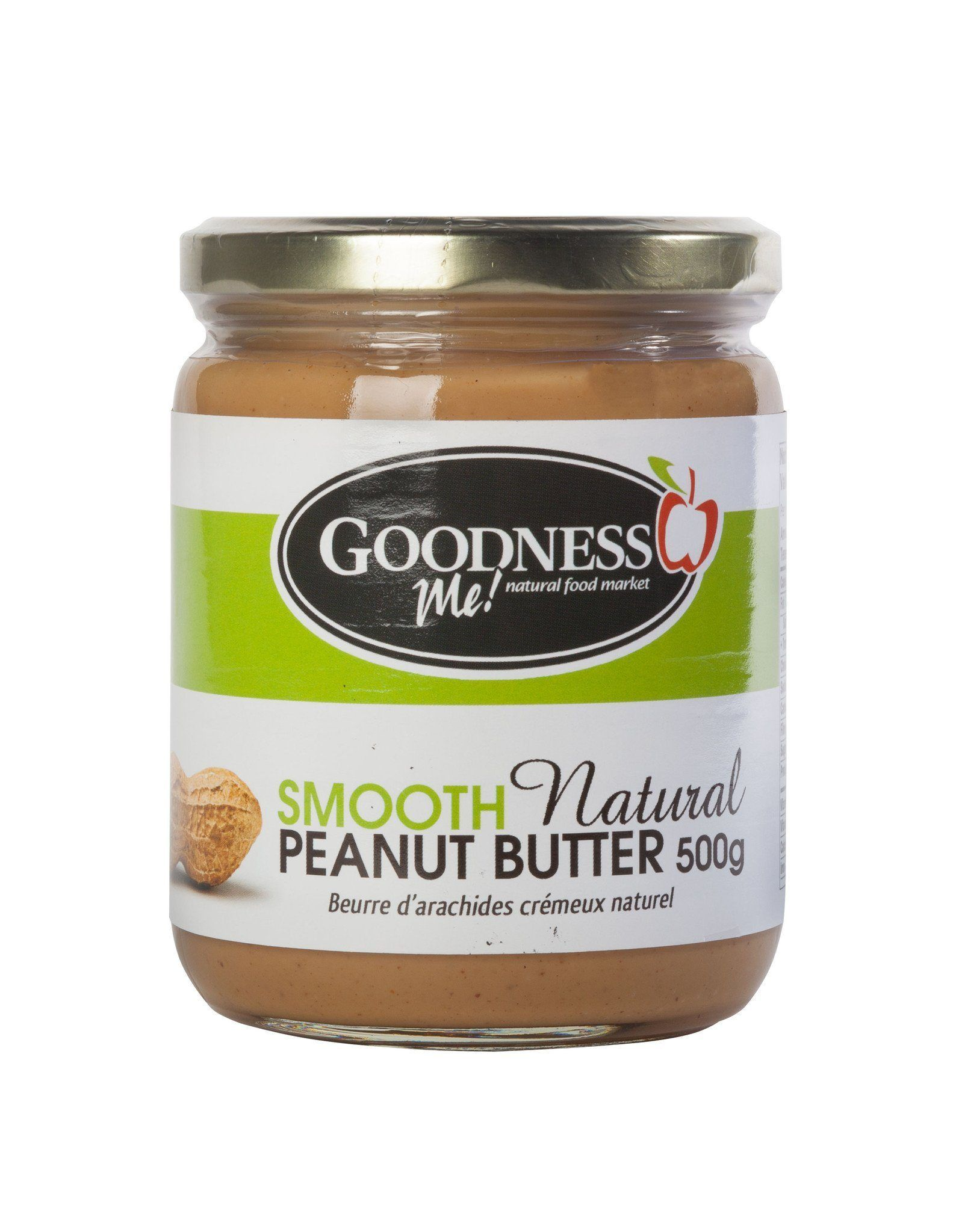 Food & Drink - Goodness Me! - Smooth Peanut Butter, 500g