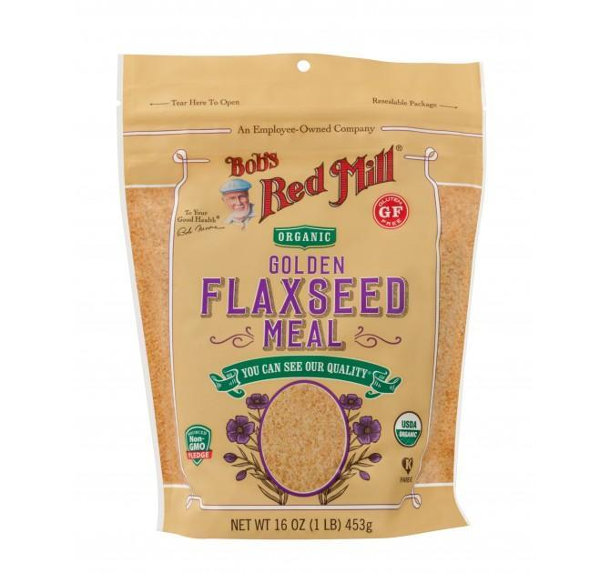 Food & Drink > Grains, Rice & Cereals > Flaxseed - Bob's Red Mill - Organic Golden Flaxseed Meal, 453g