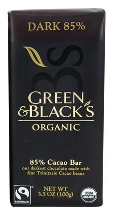 Food & Drink - Green & Black's Organic - 85% Dark Chocolate - 100g