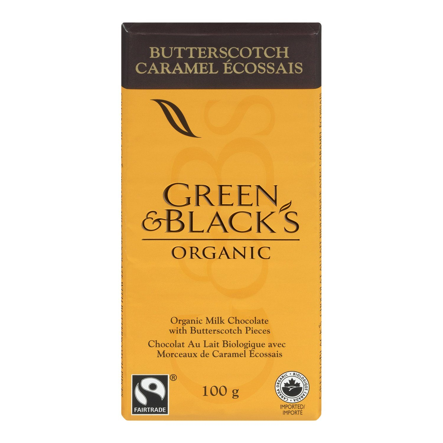 Food & Drink - Green & Black's Organic - Organic Butterscotch Milk Chocolate, 100g