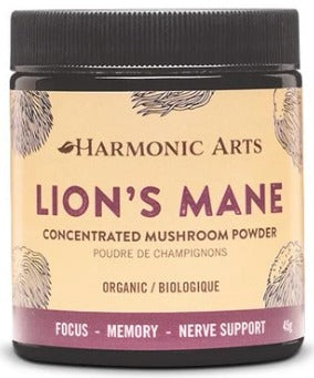 Food & Drink - Harmonic Arts - Concentrated Mushroom Powder, Lion's Mane, 45g
