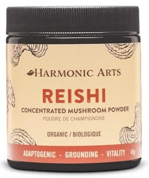 Food & Drink - Harmonic Arts - Concentrated Mushroom Powder, Reishi, 45g