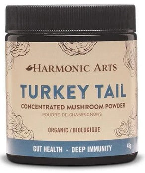 Food & Drink - Harmonic Arts - Concentrated Mushroom Powder, Turkey Tail, 45g