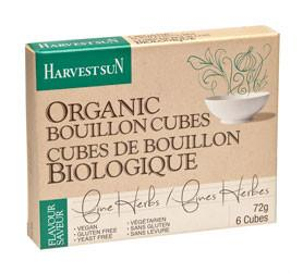 Food & Drink - Harvest Sun - Org Herbal Bouillon Cube Vegan - 72g