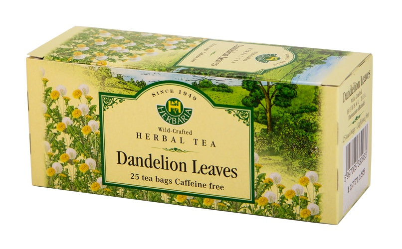 Food & Drink - Herbaria - Dandelion Leaves Tea, 25 TEA BAGS