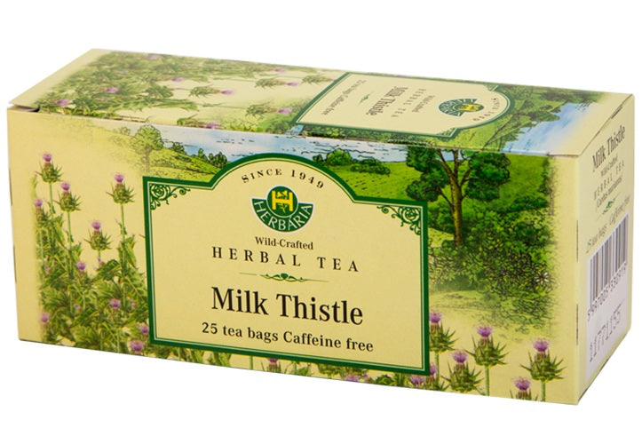Food & Drink - Herbaria - Milk Thistle Tea, 25 TEA BAGS