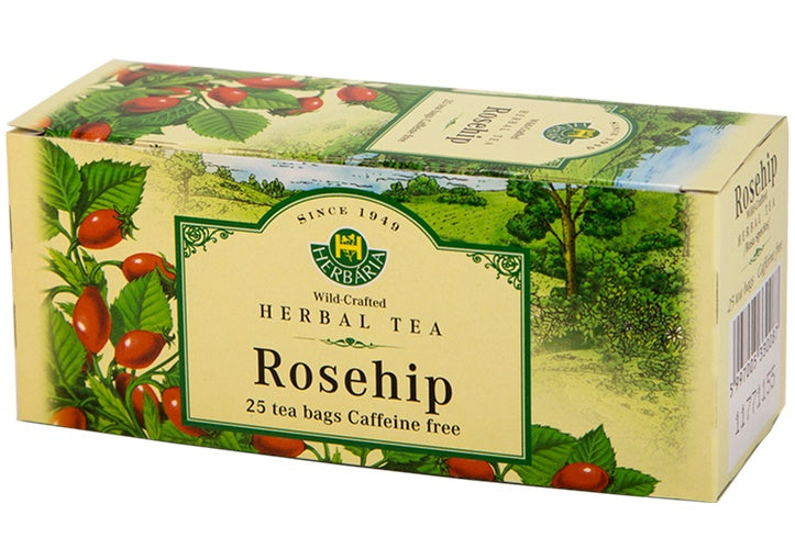 Food & Drink - Herbaria - Rosehip Tea, 25 TEA BAGS