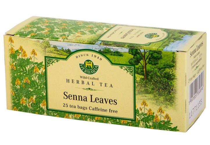 Food & Drink - Herbaria - Senna Leaves Tea, 25 TEA BAGS